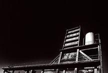 Fotografie: Carcoke / Carcoke was een cokesfabriek gelegen tussen Zwankendamme en Zeebrugge, Belgie. Heeft bestaan van 1900 tot 1996. De fabriek was gelegen op een terrein van 15 ha.