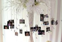 wedding photo display idea