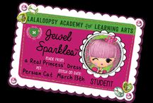 Lalaloopsy Girls Card