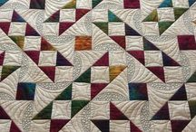 Quilts:  Jacob's Ladder
