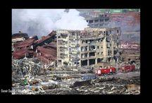 aftermath Tianjin