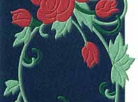 Floral Rugs / From your fabric or wallpaper swatches, we can recreate a beautiful floral rug design!