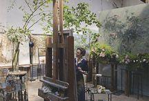 ML's Artist Studio