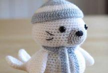 Amigurumis animals / animales / Amigurumis & toys. Teddys, puppets...