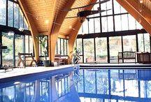 indoor pools / by JoAnna Williams