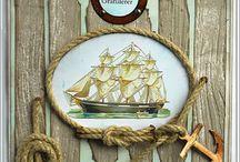 sailing cards nautical
