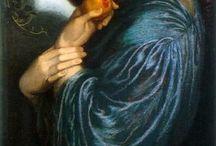 Dante Gabriel Rossetti / Preraffaelliti
