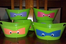 Teenage Mutant Ninja Turtles Party Ideas / Ben's TMNT birthday party!