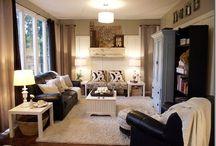 {home} living room / #livingroom / by Christine Erntsӧn