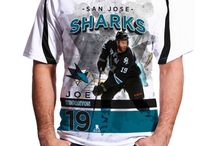 San Jose Sharks / Official NHL Apparel for the San Jose Sharks. T-Shirts, Sweaters, and more featuring the team's top stars.