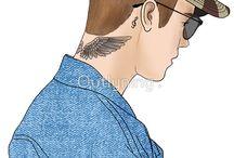 Justin Bieber DIY