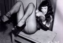 Bettie Page the  nature of being sexy