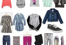 Kids capsule wardrobe