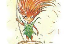 Châtaigne / Châtaigne, c'est le livre jeunesse de Denis Lapierre, qui raconte les aventures d'une petite Châtaigne !