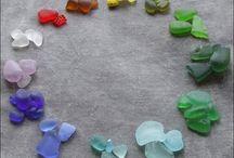 sea glass - sea pottery / by Esther Piekaar