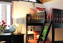 Kids Bunk Room / Ideas for the GRANDS! :) / by Kathryn Bonner