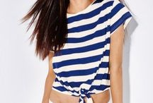 Navy styl / Milujeme námornícky štýl! Oddajte sa prúžkom, modré, červené, biele a námorníckym symbolom ;)