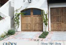 Tuscany Garage Doors / Tuscany style garage doors custom made by Crown Garage Door & Gates