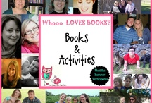 """Books & Extension Activites / Book inspired extension activities helping kids and families """"jump"""" into the pages of a book and bring the story to life."""