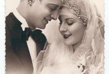 retro ślub