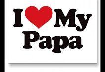 A TÚ PAPA / ¿Cuando fué la última vez que le dijiste algo bonito a tu padre?