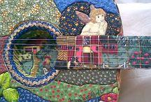 Arte em Pano Sal Rosa / Mapas de tecido, mapas artísticos, painéis de patch work, artesanato com tecido, cartonagem, impressão em tecido.