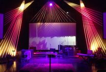 Set & Stage Design Ideas for Churches / Ideas for creating multi-sensory worship experiences using creative Set & Stage Designs / by Portable Walls & Art Displays