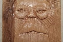 Wood Spirits for Powderham Castle