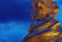 Gaudí Model☜═㋡ / Funcionalidad y poesía se combinan en las obras de Gaudí. / by Arpa QualityUrbanAqua