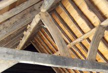 Reclaimed Oak Beams / The ever popular reclaimed and antique oak beams, including green oak and air dried English oak beams