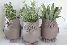 Keramické nápady / Výrobky z keramické hlíny