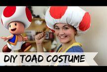 Toad costume