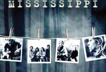"""Beneath The Mississippi (Movie) / (Short Synopsis) """"In this taut psychological-thriller, a filmmaker investigates the mysterious disappearance of hundreds of people in a remote area of the Mississippi River … with dire consequences."""" (Starring) Adiadne Shaffer (Frog-g-g!, Gone But Not Forgotten), Michael Robert Nyman (Awaken The Dead, The Last Bad Neighborhood), and Nick Murray (Bred In The Bone). / by Green Apple Entertainment"""