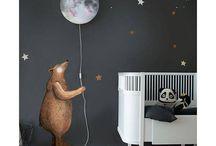 Bebek odası duvar dekorasyon