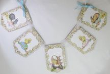 Easter Spring Handmade / Easter greeting cards and home decor.