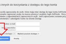 Przydzielanie dostępu do konta Google AdWords