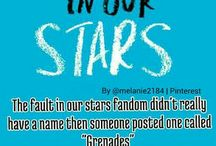 The Fault In Our Stars / TFIOS and John Green