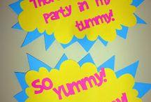 Yo Gabba Gabba Party / Arias 1st Bday!