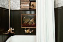 Look Dandy : Une salle de bains Rétro & British / Le look Dandy ! Masculin tout en étant raffiné il correspond à une ambiance british des années 20 ! L'esprit bourgeois des Roaring Twenties dans votre salle de bains, vous ne pouvez qu'adorer.   #Déco #Décoration #Dandy #Chic #British #Lifestyle #Home #Interior #BathroomDesign #Inspiration