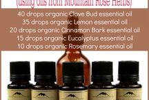 Essential Oils Recipes / Essential oil recipes from @Wellness Becomes Her  WellnessBecomesHer.com