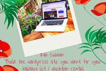 Holiday Home Owners-Building Your Website / Hints and tips on building the best website for your and your holiday let property. Latest and greatest plug-ins, themes, opt-ins, giveaways, booking calenders, photography tips, blog ideas and much more!