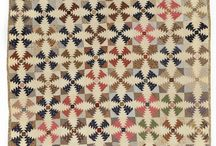 QUILTS : LOG-CABIN