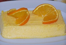 Flan de naranja en MW