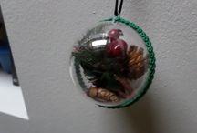 NATALE / Decorazioni natalizie fatte a mano