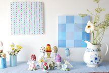 Decoração de páscoa/  Easter decoration ideas / Ideias fofas para decorar a casa