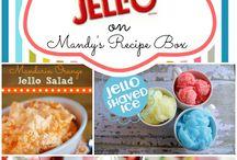 JELLO Recipes all - Ζελέ όλα