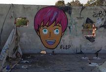 FL1P / Athens Street Art & Graffiti