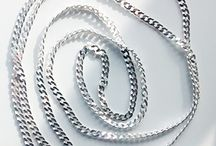 Sterling silver chains / Custom made sterling silver chains