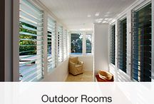 Outdoor Rooms / Altair Louvres can be used to create extra living space and extend your outdoor time.