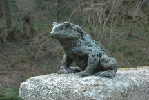 Toad - sculpture